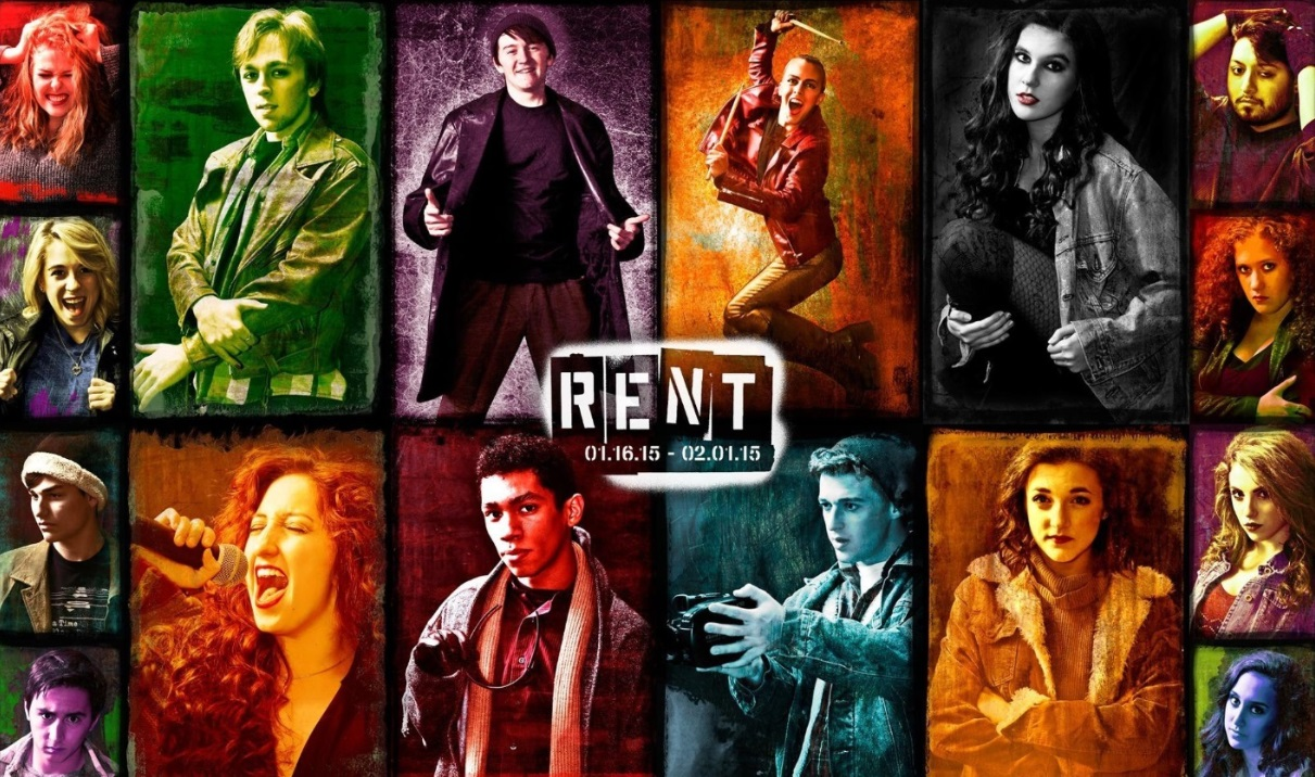 rent � theatre review spotlight youth theatre glendale