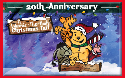 every december is a special month this year its even more so its the 20th anniversary of a winnie the pooh christmas tail a musical - A Christmas Tail
