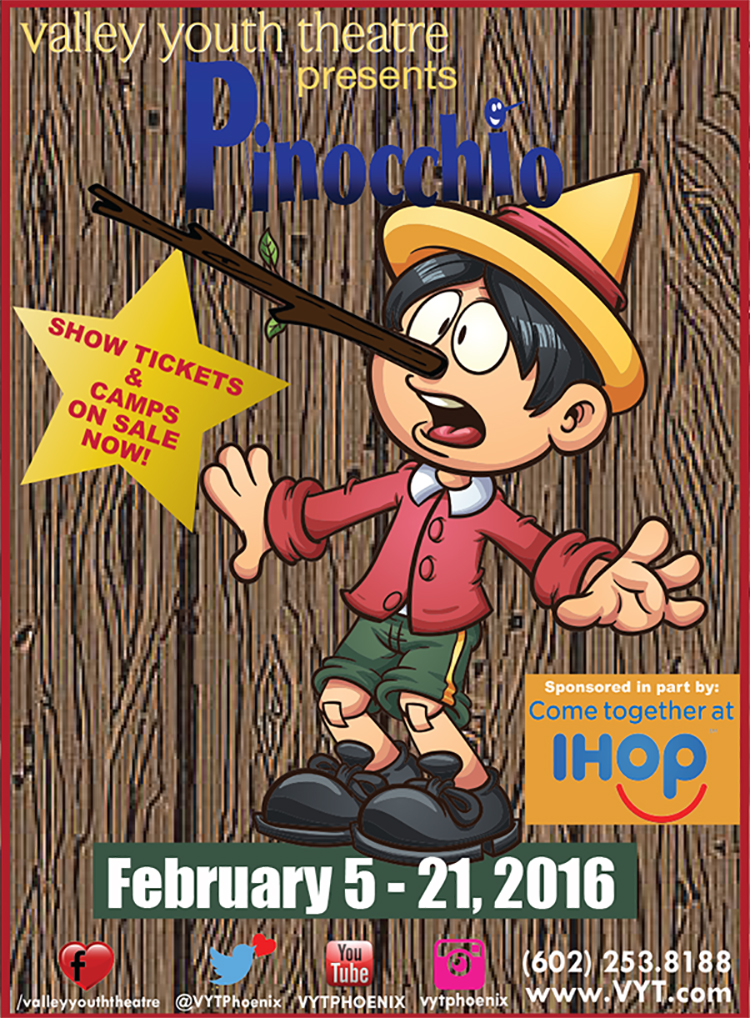 Pinocchio – Theatre Review: Valley Youth Theatre, Phoenix ...